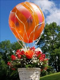 Hot Air Ballon Bouquet Floyd, VA Florist, Floyd Florists, Florists in Floyd VA, Floyd Florists - Floyd VA Flowers Delivery,