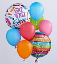 Get Well Balloon Bouquet Floyd, VA Florist, Floyd Florists, Florists in Floyd VA, Floyd Florists - Floyd VA Flowers Delivery,
