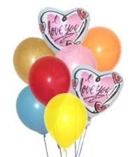 I Love You Balloon Bouquet Floyd, VA Florist, Floyd Florists, Florists in Floyd VA, Floyd Florists - Floyd VA Flowers Delivery,