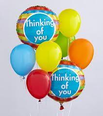 Thinking of You Balloon Bouquet Floyd, VA Florist, Floyd Florists, Florists in Floyd VA, Floyd Florists - Floyd VA Flowers Delivery,