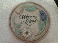 Welcome Friends Stepping Stone Floyd, VA Florist, Floyd Florists, Florists in Floyd VA, Floyd Florists - Floyd VA Flowers Delivery,
