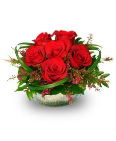 Rosy Red Posy Floyd, VA Florist, Floyd Florists, Florists in Floyd VA, Floyd Florists - Floyd VA Flowers Delivery,