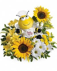 Bee Well Bouquet Floyd, VA Florist, Floyd Florists, Florists in Floyd VA, Floyd Florists - Floyd VA Flowers Delivery,