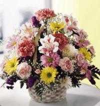 Basket Of Cheer Bouquet Floyd, VA Florist, Floyd Florists, Florists in Floyd VA, Floyd Florists - Floyd VA Flowers Delivery,