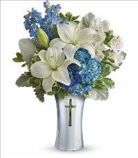 Skies of Remembrance Bouquet Floyd, VA Florist, Floyd Florists, Florists in Floyd VA, Floyd Florists - Floyd VA Flowers Delivery,