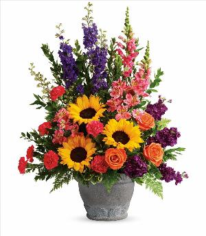 Hues of Hope Bouquet Floyd, VA Florist, Floyd Florists, Florists in Floyd VA, Floyd Florists - Floyd VA Flowers Delivery,