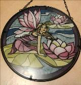 Fairy and Lily Pads Suncatcher Floyd, VA Florist, Floyd Florists, Florists in Floyd VA, Floyd Florists - Floyd VA Flowers Delivery,