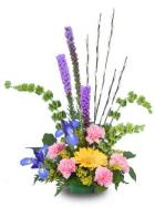 Colors of Spring Centerpiece Floyd, VA Florist, Floyd Florists, Florists in Floyd VA, Floyd Florists - Floyd VA Flowers Delivery,