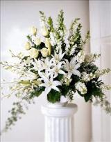 Light In Your Honor Arrangement Floyd, VA Florist, Floyd Florists, Florists in Floyd VA, Floyd Florists - Floyd VA Flowers Delivery,