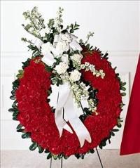 Patriotic Tribute Wreath Floyd, VA Florist, Floyd Florists, Florists in Floyd VA, Floyd Florists - Floyd VA Flowers Delivery,