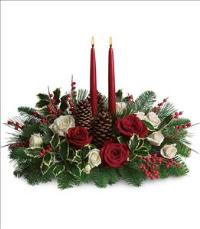 Christmas Wishes Centerpiece Floyd, VA Florist, Floyd Florists, Florists in Floyd VA, Floyd Florists - Floyd VA Flowers Delivery,