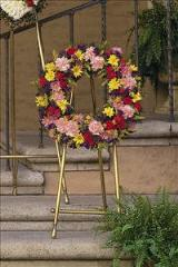 Mixed Wreath Floyd, VA Florist, Floyd Florists, Florists in Floyd VA, Floyd Florists - Floyd VA Flowers Delivery,