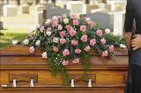 Closed Casket Pink Spray Floyd, VA Florist, Floyd Florists, Florists in Floyd VA, Floyd Florists - Floyd VA Flowers Delivery,
