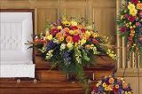 Celebration Of Life Casket Spray Floyd, VA Florist, Floyd Florists, Florists in Floyd VA, Floyd Florists - Floyd VA Flowers Delivery,