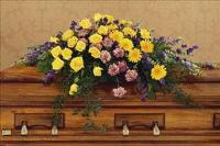 Eternal Hope Casket Spray Floyd, VA Florist, Floyd Florists, Florists in Floyd VA, Floyd Florists - Floyd VA Flowers Delivery,